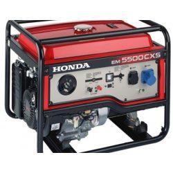 Honda EM 5500 S áramfejlesztő