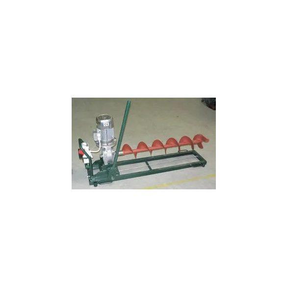 EFT-250 vízszintes talajfúró elktromotorral| ár fúrócsigák nélkül értendők