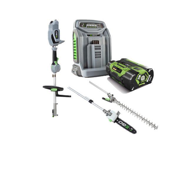EGO MHCC 1002E Multi Tool eszköz fej+2 eszköz (akku+gép+töltő)
