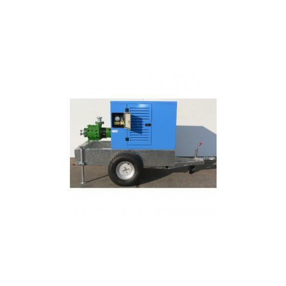 SAN-47/2000 K centrifugál, nagynyomású szivattyú burkolattal (vontatható)