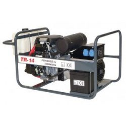 TR-14 áramfejlesztő (háromfázisú) +  MPG 13 ELEKTR. FŰNYÍRÓ